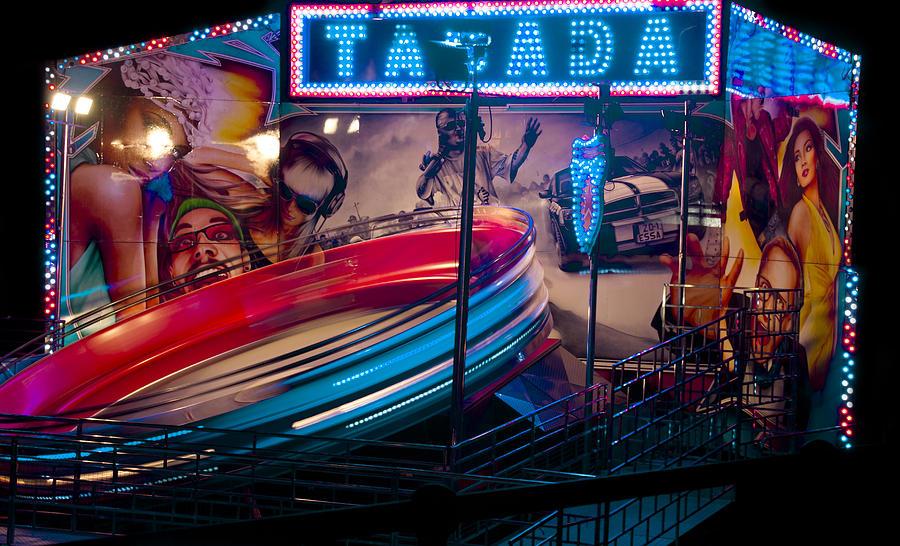 Fair Ground Digital Art - Fairground Attraction by Brendan Quinn