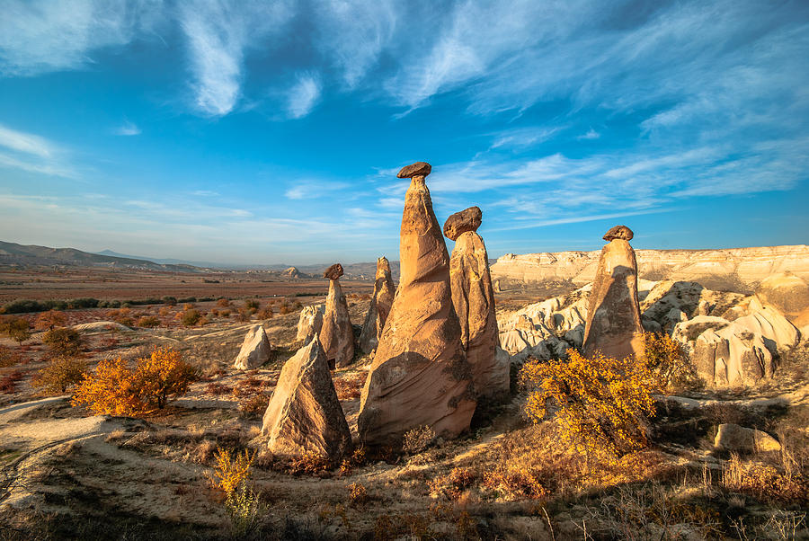 Fairy Chimneys In Cappadocia Photograph by ArdaAdnanKalkan