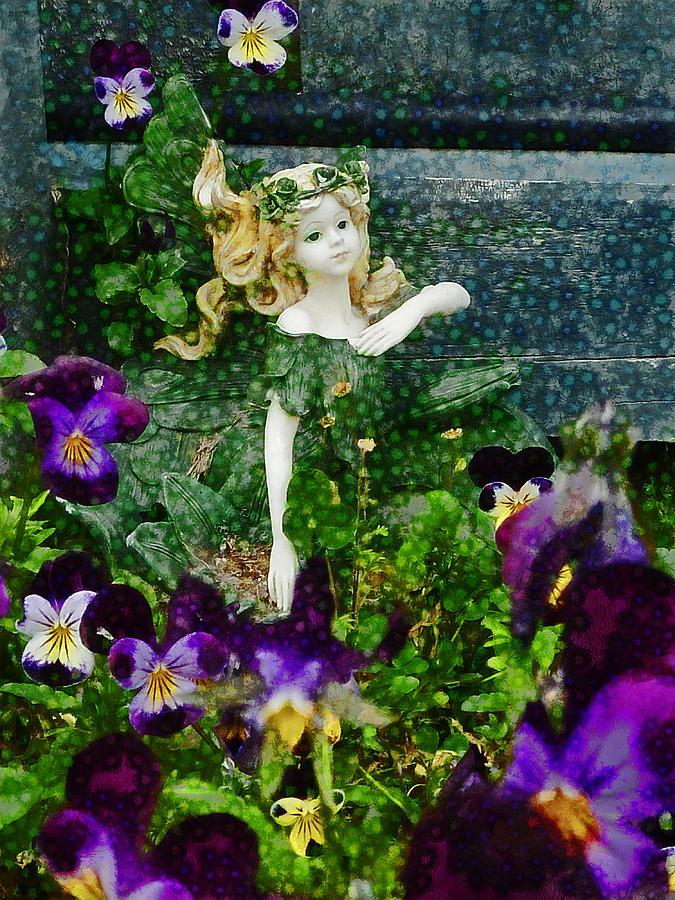 Fairy Photograph - Fairy Dust  by Steve Taylor