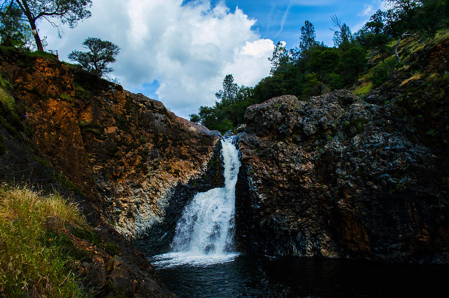 Waterfall Photograph - Fairy Falls by Along The Trail