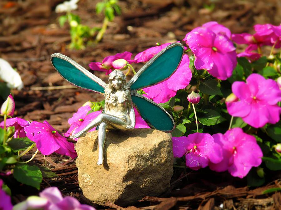 Fairy Photograph - Fairy Garden by Andrea Dale