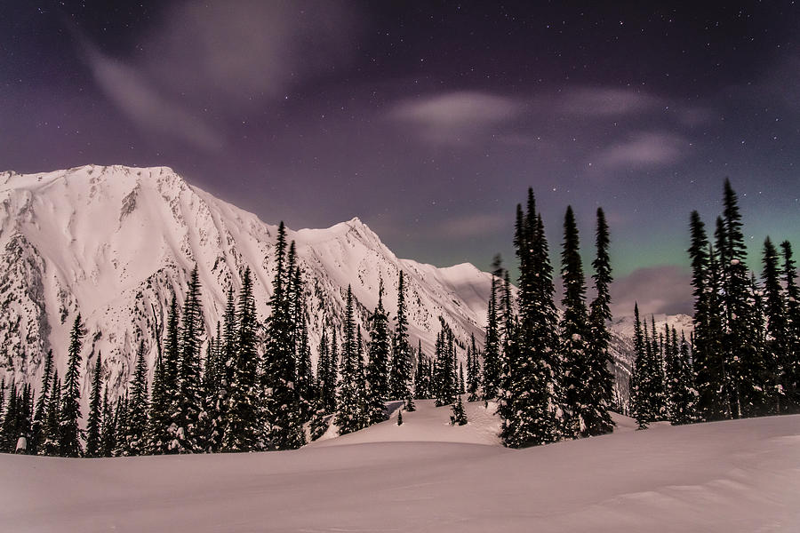 Northern Lights Photograph - Fairy Meadows Northern Lights by Ian Stotesbury