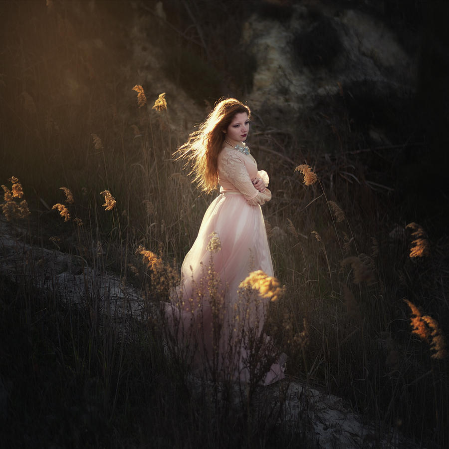 Spirit Photograph - Fairy by Paulo Dias