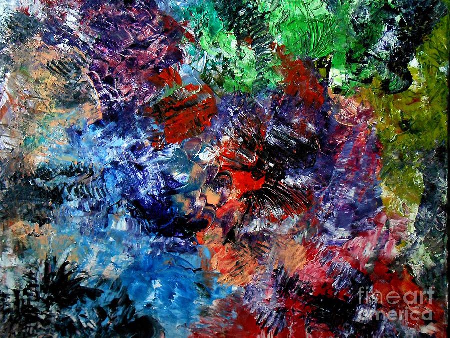 Fairy Pond Painting by Danya Hammoudi