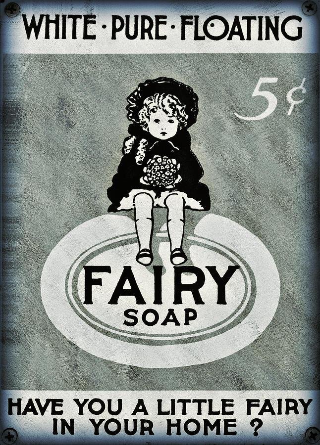 Fairy Photograph - Fairy Soap by Ricky Barnard