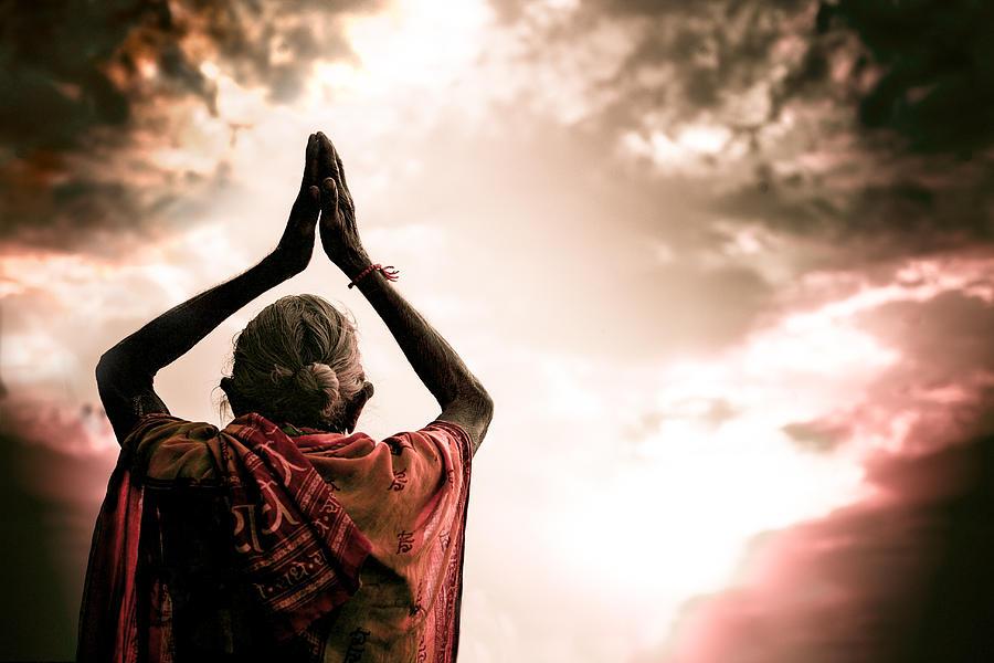 Faith Photograph - Faith And Prayers For Peace by Nila Newsom