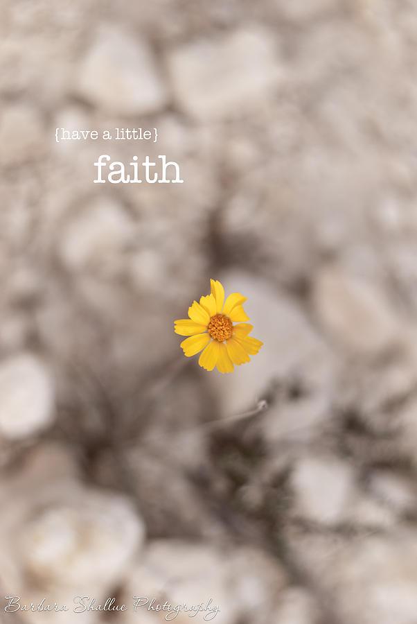 Faith Photograph - Faith by Barbara Shallue
