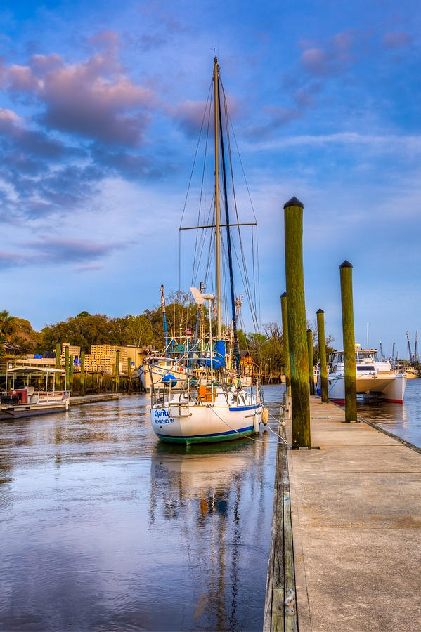 Boats Photograph - Faith Hope And Charity by Debra and Dave Vanderlaan