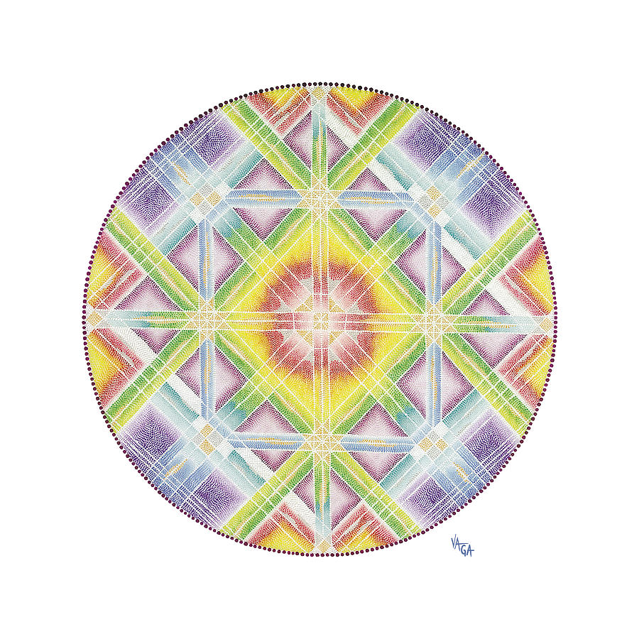Mandala Painting - Faith In Life by Vanda Omejc