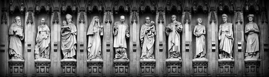 Westminster Abbey Photograph - Faithful Witnesses by Stephen Stookey