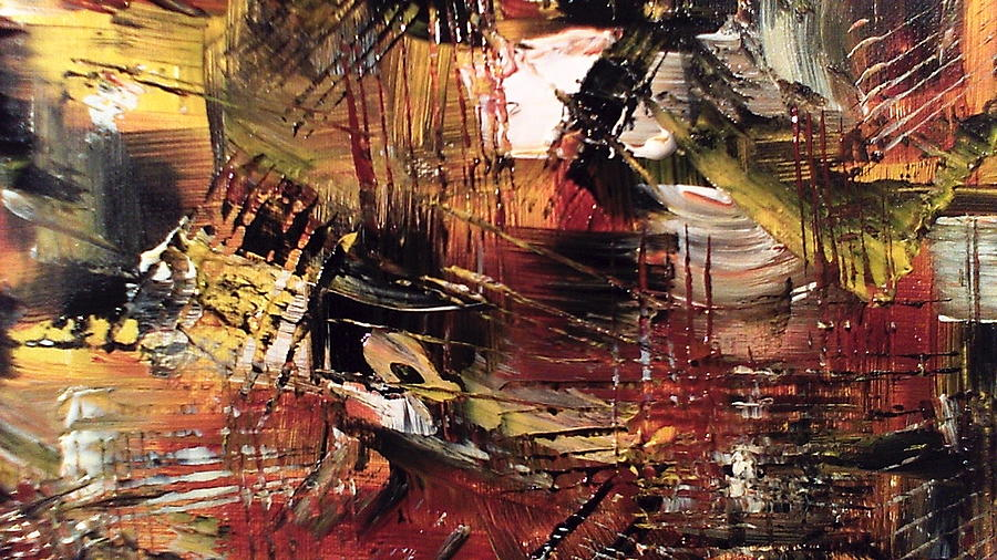 Abstract Painting - Fall 2 by Lisa Williams