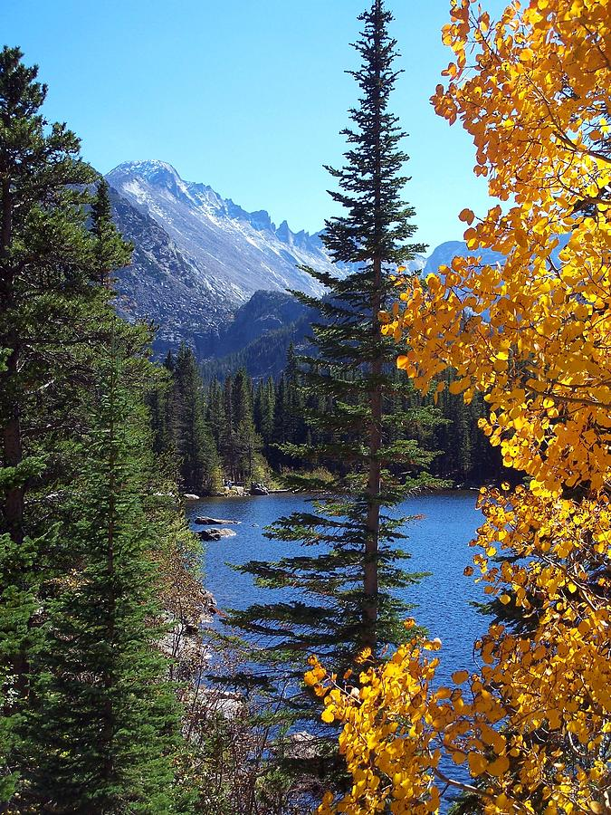 Rocky Photograph - Fall At Bear Lake by Tranquil Light  Photography