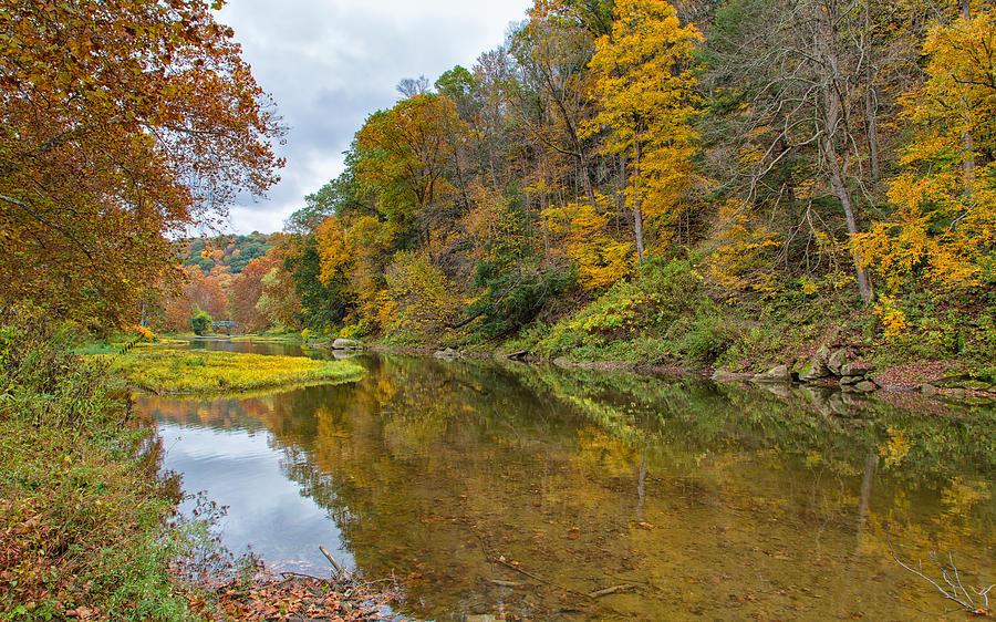 Fall at Little Beaver Creek by John M Bailey