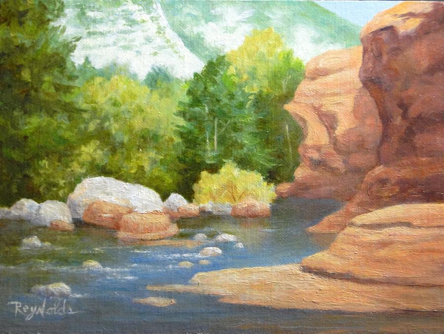 Fall At Slide Rock Sedona  by Carol Reynolds