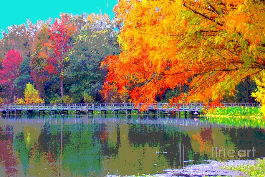 Fall Photograph - Fall At The Lake by Annette Allman
