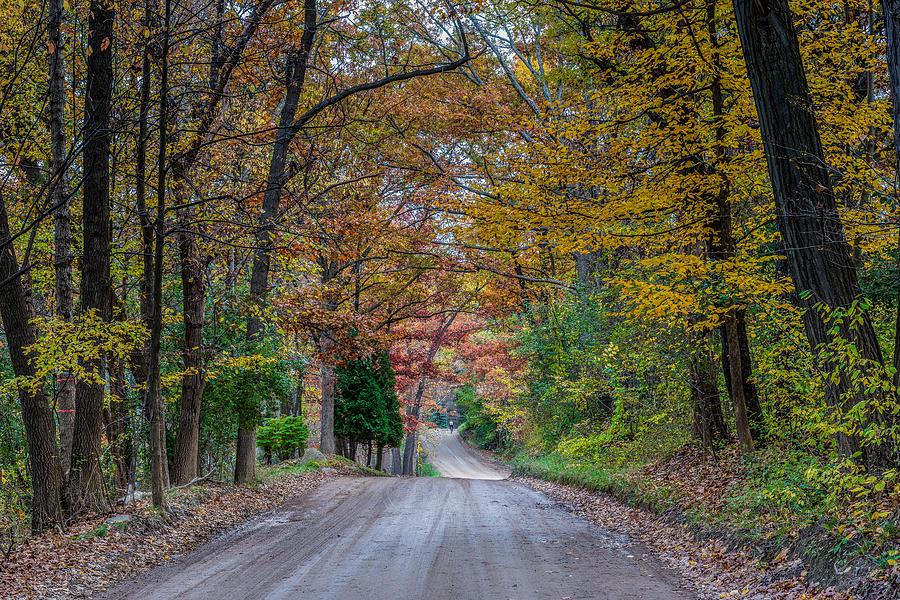 Fall Photograph - Fall Bike Ride by Paul Johnson