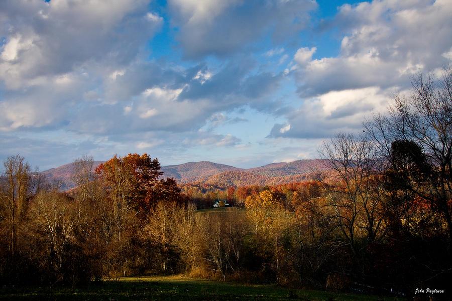 Fall Colors North Carolina Mountains by John Pagliuca
