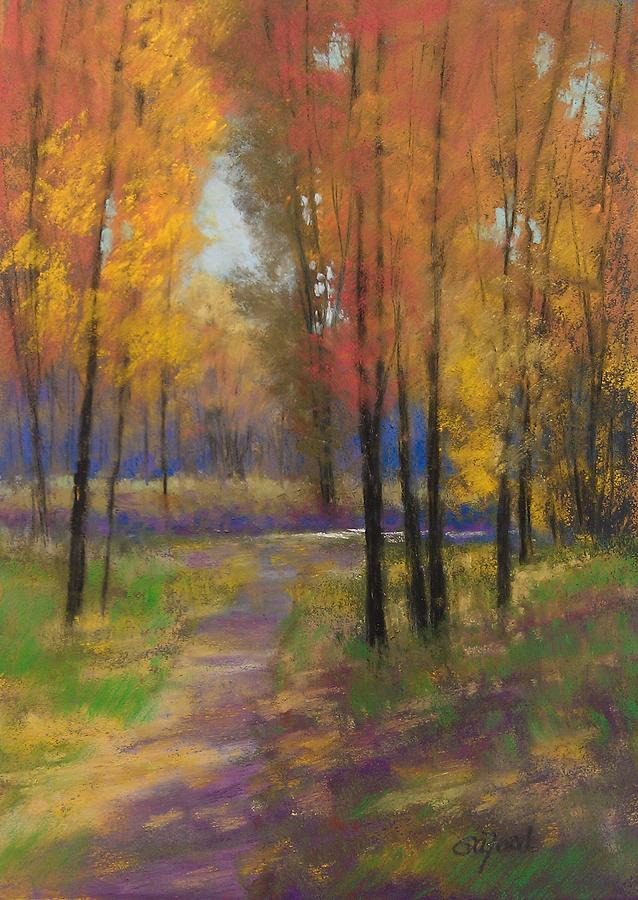 Fall Colors Painting By Paula Ann Ford