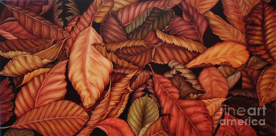 Autumn Painting - Fall Colors by Paula Ludovino