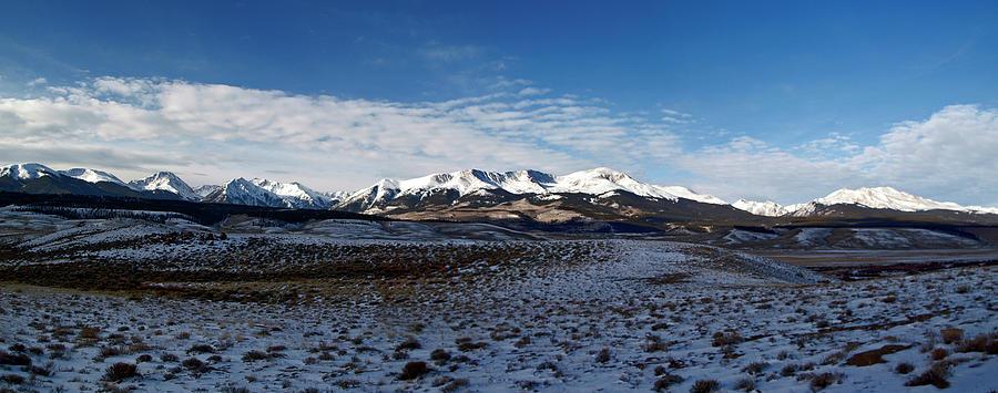 Panorama Photograph - Fall Ends Panorama by Jeremy Rhoades