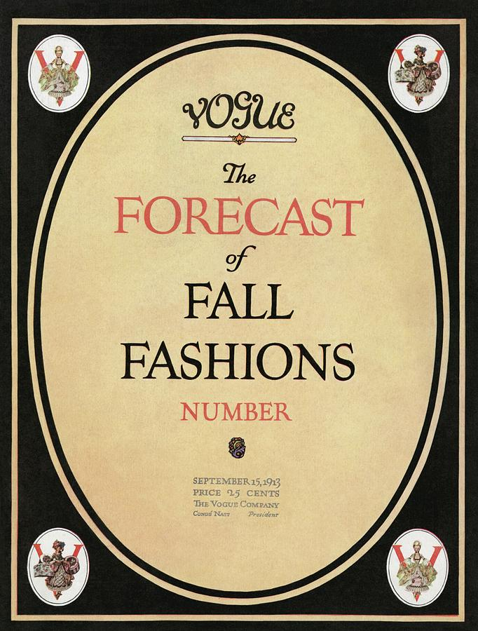 Fall Fashions Forecast Photograph by  Unknown