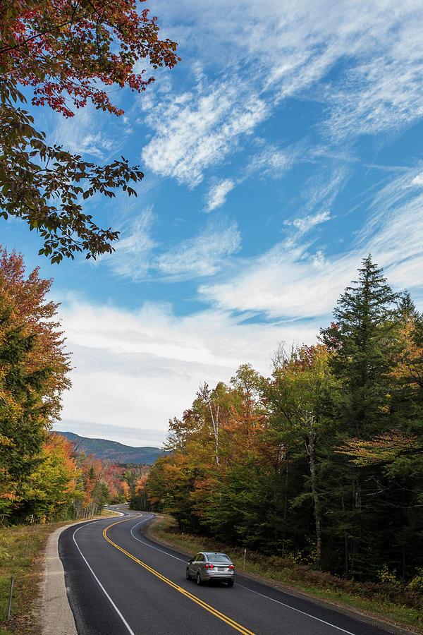 Growth Photograph - Fall Foliage Along The Kancamagus by Joe Klementovich