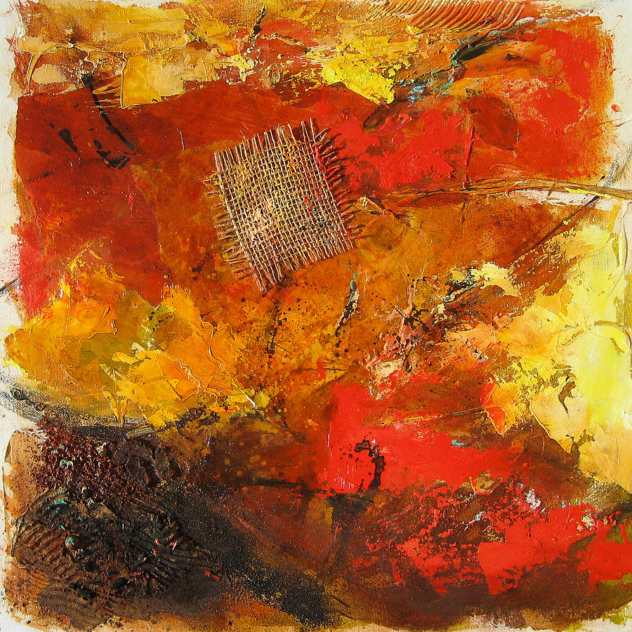 Abstract Painting - Fall Foliage by Elise Palmigiani