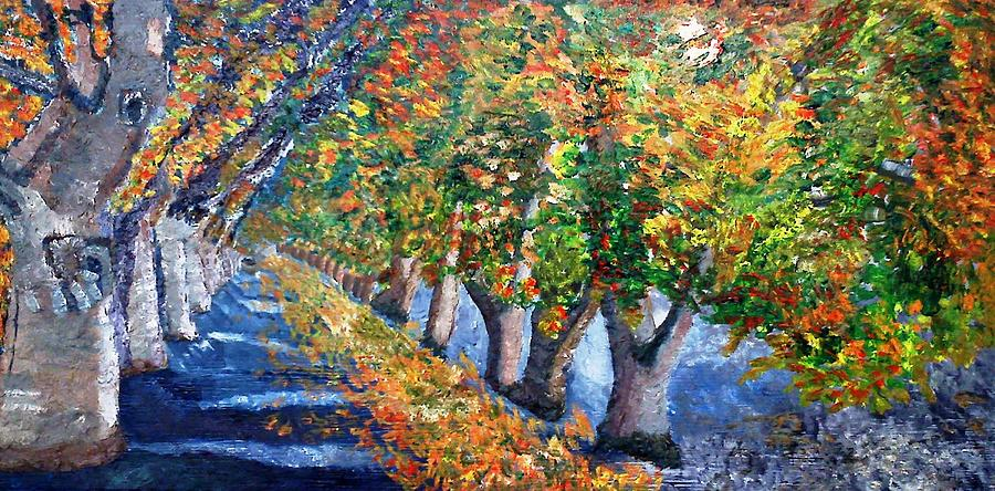 Fall Painting - Fall Foliage  by Leslye Miller