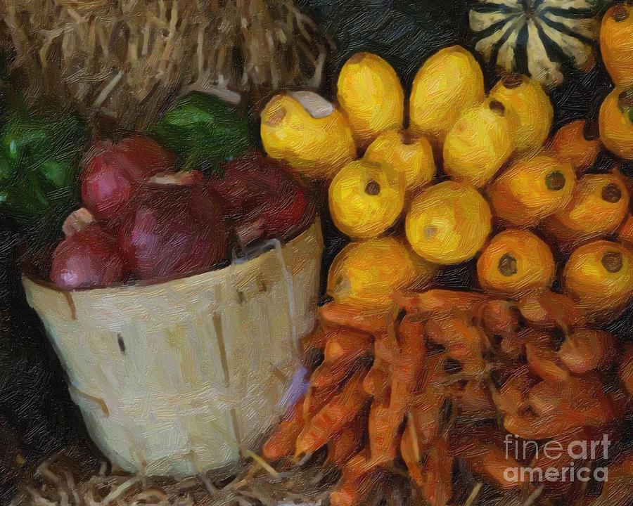 Fall Harvest by Bobbie Turner