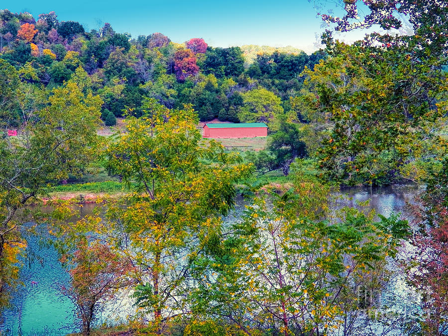 Autumn Scenery Photograph - Fall In West Virginia by Gena Weiser