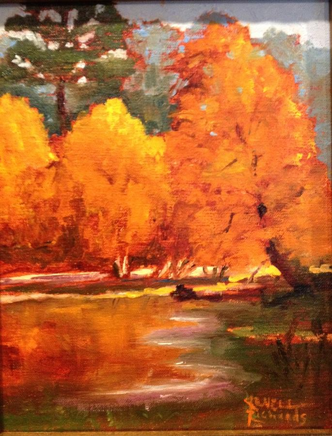 Fall Painting - Fall  by Jenell Richards