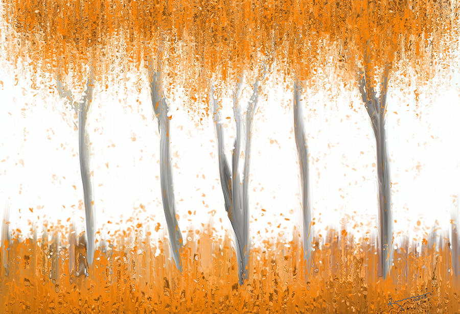 Design Painting - Fall by Kume Bryant