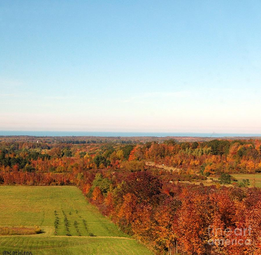 Fall Photograph - Fall Landscape by Kathleen Struckle