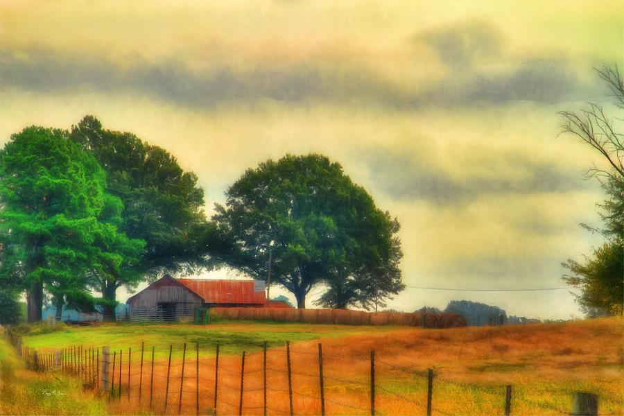 Farm Photograph - Landscape - Barn - Fall On The Farm by Barry Jones