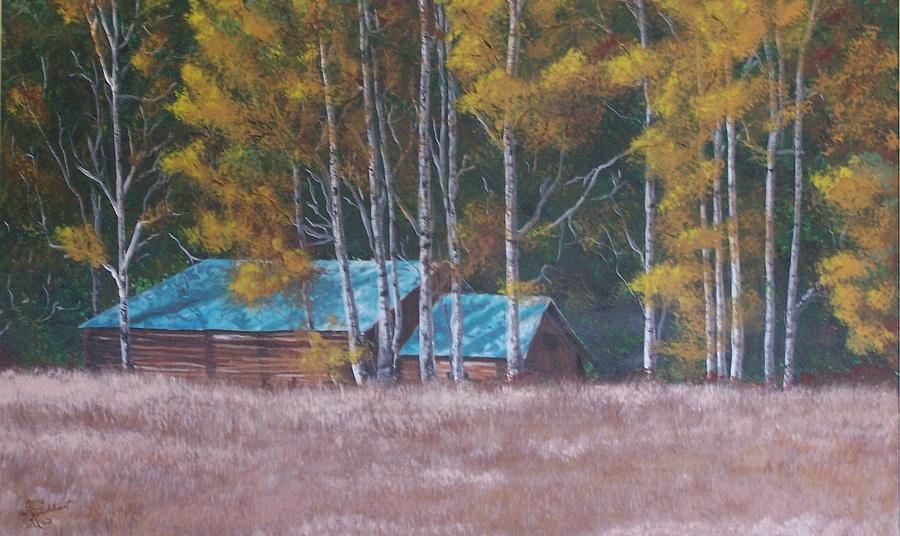 Landscape Painting - Fall On The Ranch by Gene Ritchhart