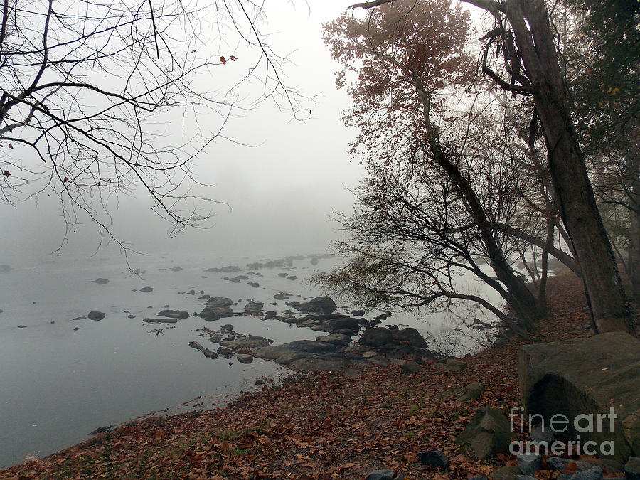 Scenic Tours Photograph - Fall On The River by Skip Willits