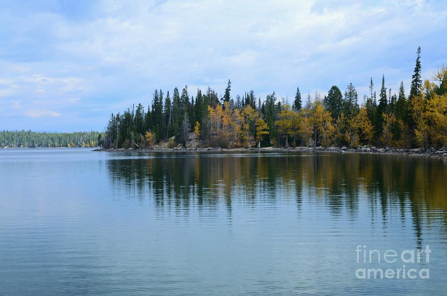 Jenny Photograph - Fall Reflections by Kathleen Struckle