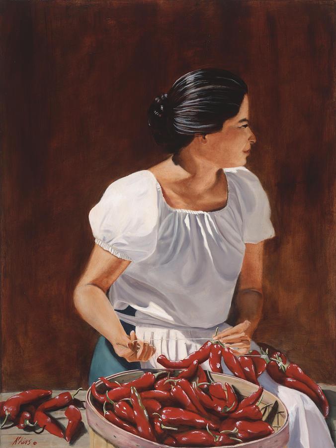 Southwest Painting - Fall Ritual by Jack Atkins