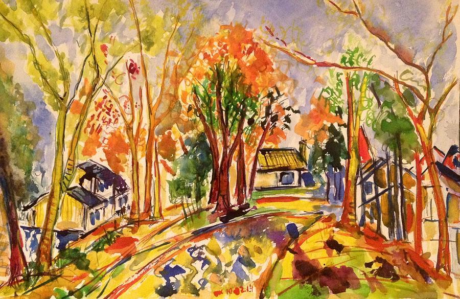 Fall Painting - Fall2014-11 by Vladimir Kezerashvili