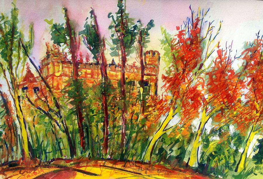 Fall Painting - Fall2014-3 by Vladimir Kezerashvili
