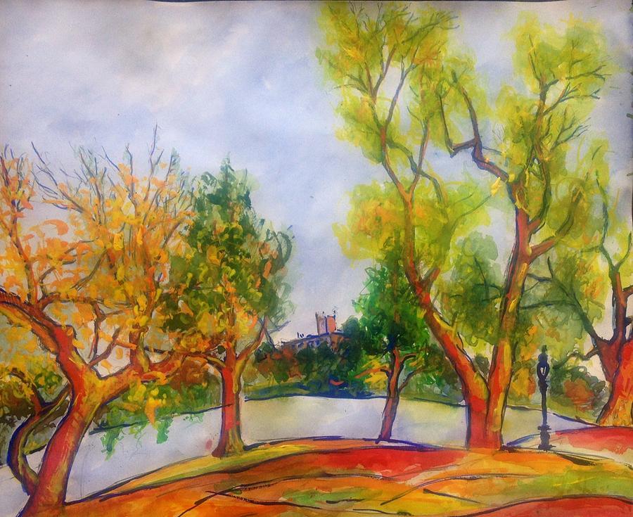 Fall Painting - Fall2014-5 by Vladimir Kezerashvili