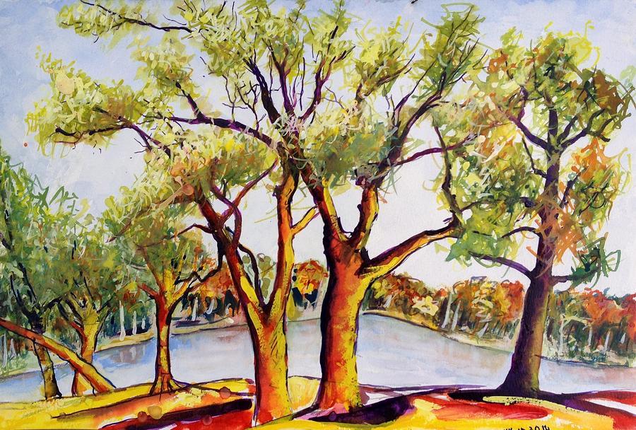 Fall Painting - Fall2014-7 by Vladimir Kezerashvili