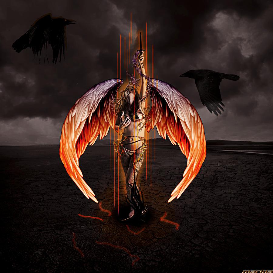Смотреть картинки падшего ангела