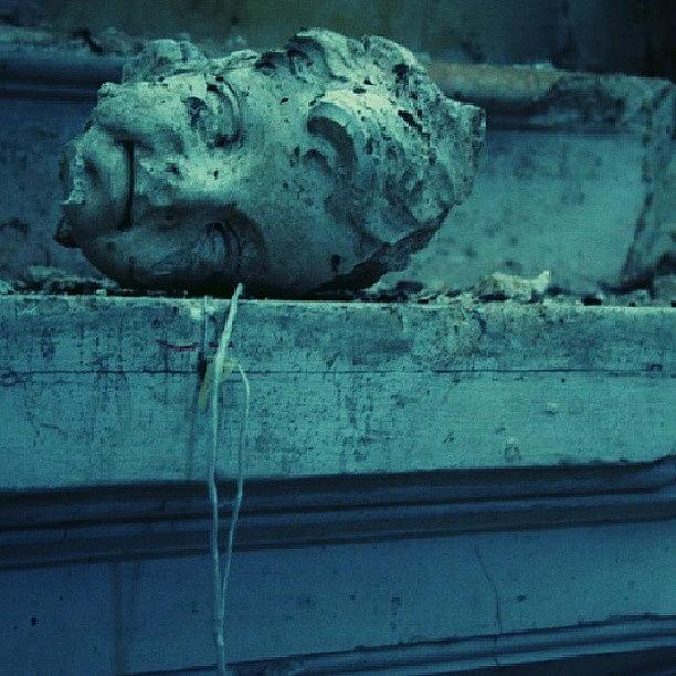 Ghost Photograph - Fallen by Emanuela Carratoni