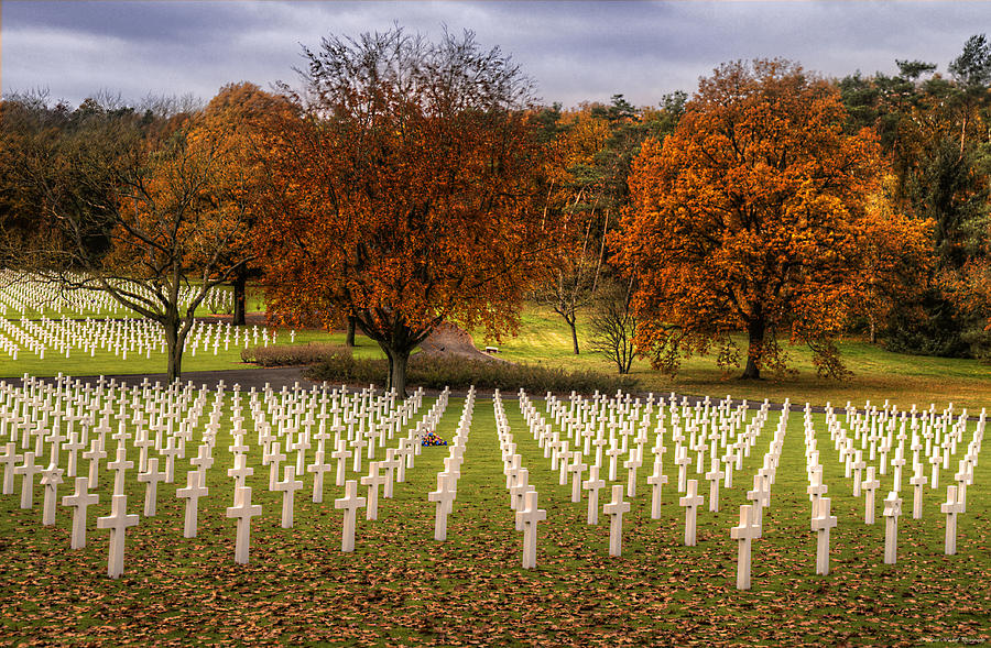 Fall Photograph - Fallen Soldiers by Ryan Wyckoff