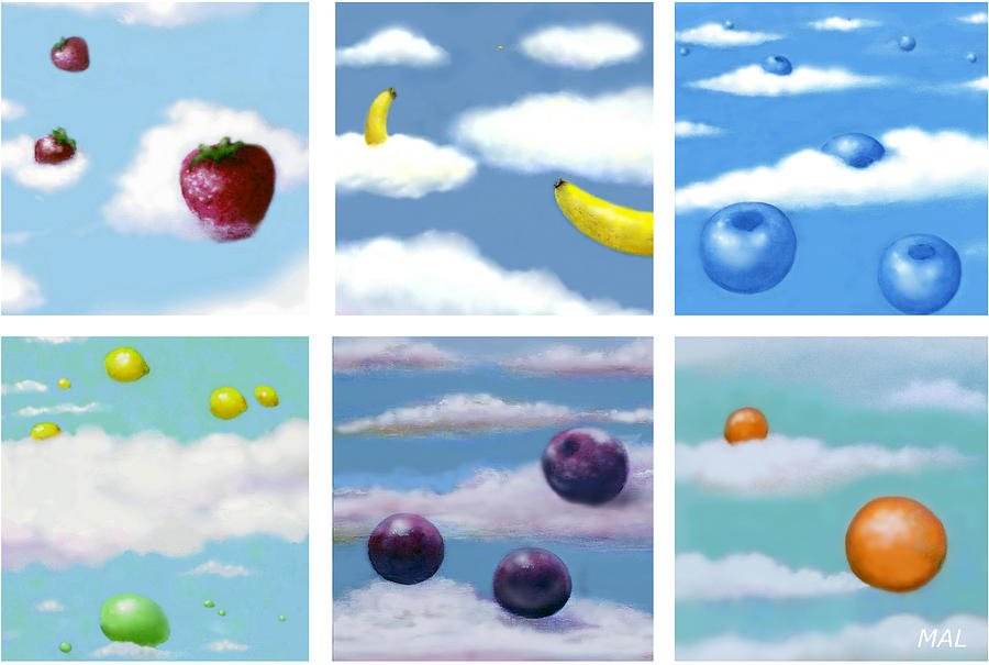 Falling Fruit Group by Mary Ann  Leitch