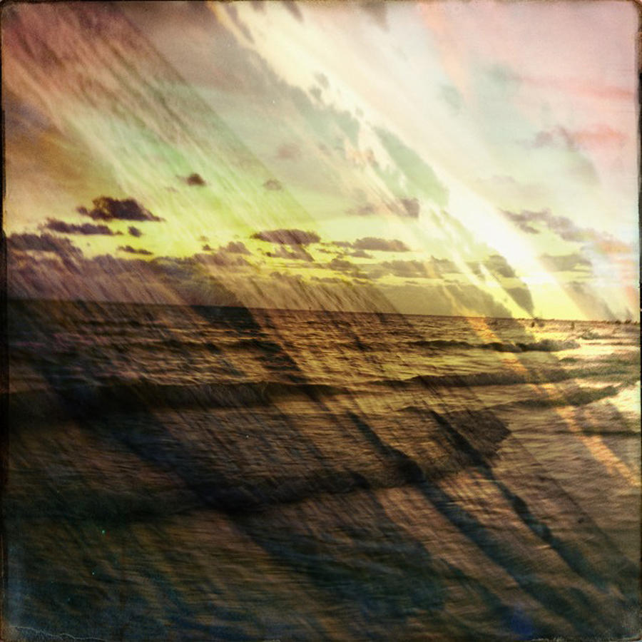 Siesta Key Photograph - Falling Sky Siesta Key by Alison Maddex