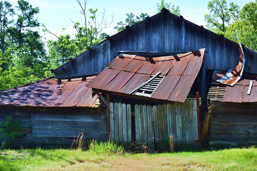 Barns Photograph - Falling To Pieces by Joe Bledsoe