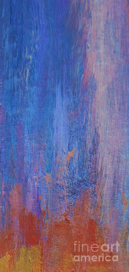 Abstract Painting - Falling Up by John Clark