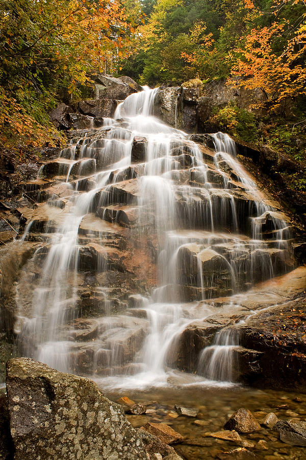 Water Falls Photograph - Falling Waters by Diana Nault